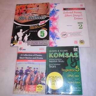 SPM KOMSAS & Literature
