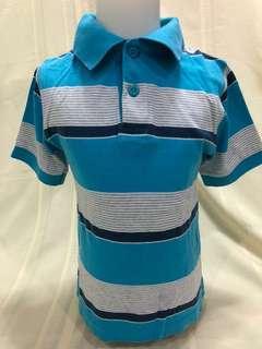 Size 4:  Children's Place Blue White Stripes