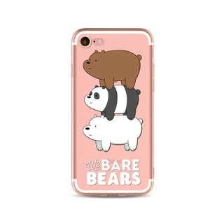 We Bare Bear Case for Iphone 8/8 plus