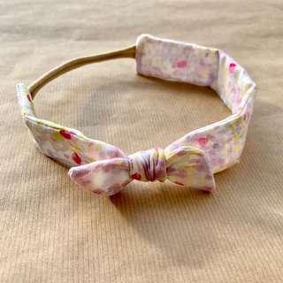 Peony // Thick Knotted Headband   Handmade