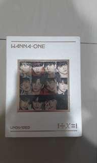 WTS Wanna One Undivided Album To Be One album