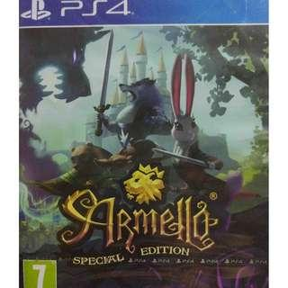 New Playstation 4 PS4 Armello Special Edition Region 2 (NEAREST MRT)