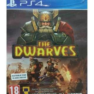 New Playstation 4 PS4 The Dwarves Region 2 (NEAREST MRT)