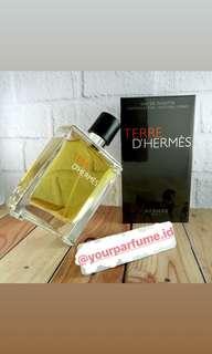 Terre D'Hermes Eau De Toilette Parfume Ori Singapore