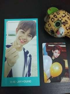 Wanna One Jinyoung Membership kit pc