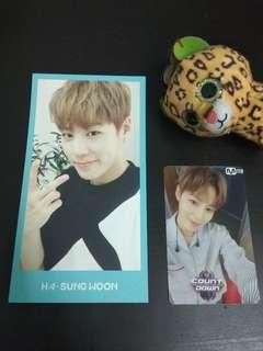 Rare Sunghoon Membership Kit Pc