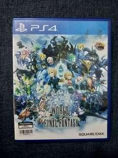 [PS4] WORLD OF FINAL FANTASY