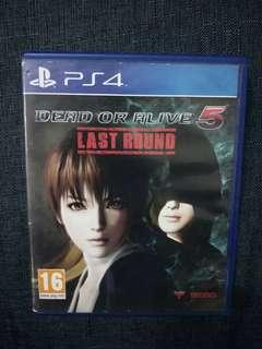 [PS4] DEAD OR ALIVE 5 - Last Round