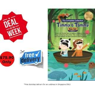 Special Offer Timmy & Tammy Books box set - Level 1 & 2