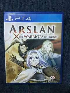 [PS4] ARSLAN: The Warriors of Legend