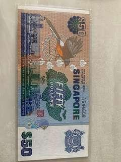50 bird note for sale
