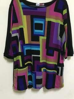 🔖Colorful Dimension Shirt Blouse