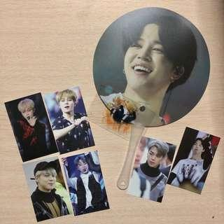 BTS Jimin fan & photocards by HEARTTOHEART