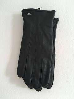J. Lindeberg Milo Nappa Leather Gloves