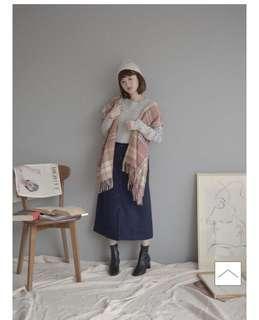 🚚 轉賣Wish by Korea毛呢窄裙