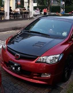 Civic FD CF Bonnet (with New Laquer)