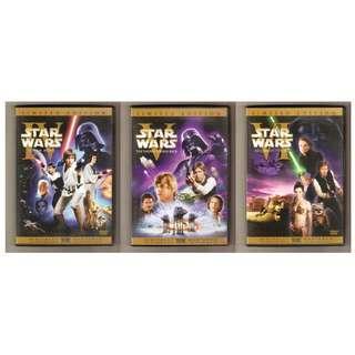 Star Wars Episode IV V VI DVD Limited Edition Set (Original Theatrical Version)