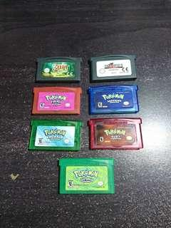 Gameboy advance games GBA