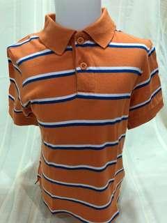 Size 4:  Children's Place Orange & Blue stripes