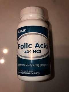 GNC 葉酸 folic acid