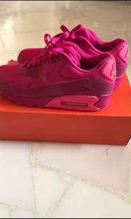 Nike Air Max 90 Limited Edition Pink Colour(Size US 9)