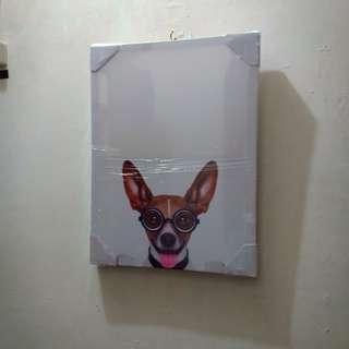 Smiling  Chihuahua  DoG painting