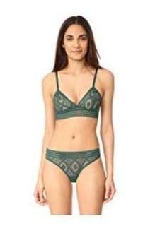 BN US$93 Else Lingerie baroque triangle underwire bra