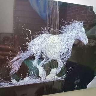 Water Horse  painting