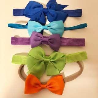 All for $4: BN Baby Girl Headbands Hairbands
