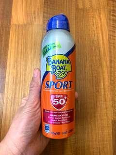 🚚 Banana Boat SPF 50+ Sunscreen