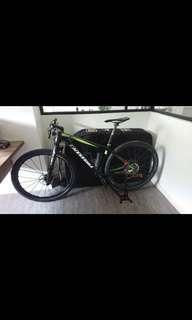 Cannondale carbon lefty mountain bike