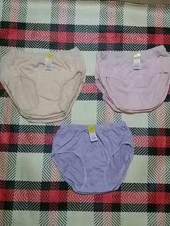 全新 女裝內褲 肉色/粉紅色/紫色 XXXL 碼 32-34吋腰