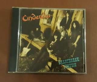CD Cinderella - Heartbreak Station ( USA PRESS 1990 )