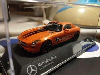 Schuco 1:43 Mercedes Benz SLS AMG Gran Turismo Sinature Edition 車仔模型