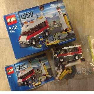 Lego City 3366