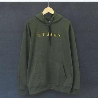 Stussy Green Sweater