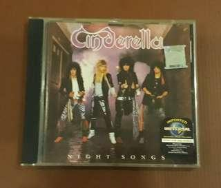 CD Cinderella - Night Songs ( Made in Germany 1986 )