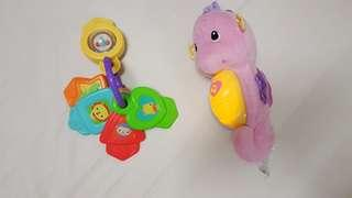 Fisher Price Seahorse Baby Toys Set