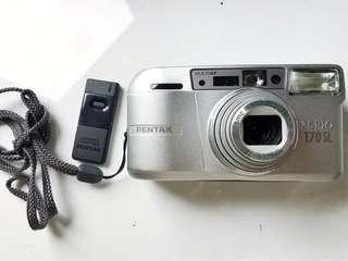 🚚 [送遙控與頸繩]Pentax espio 170SL 超望遠 隨身底片相機