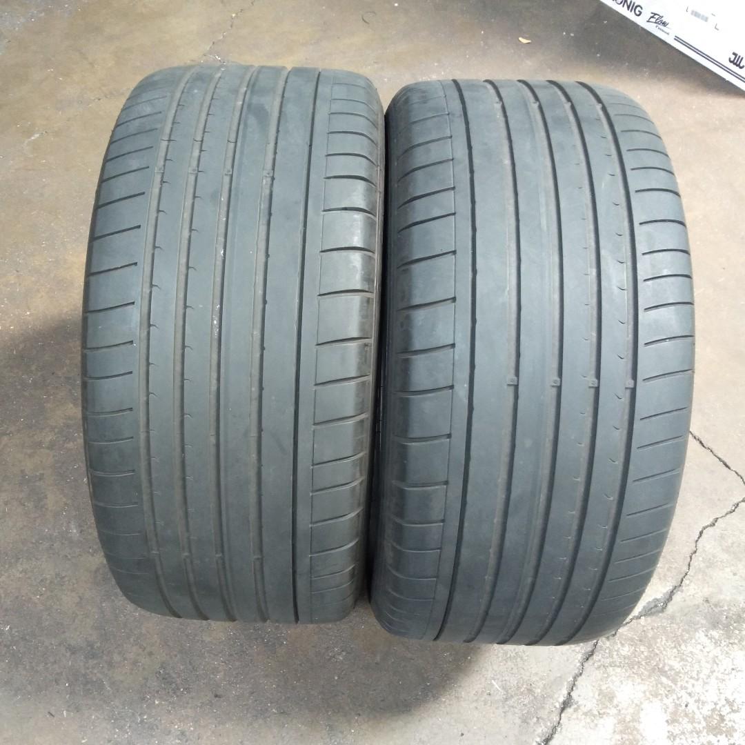 275 40 18 >> 2pcs Dunlop Sp Sport Maxx Gt Rft Tyre 275 40 18