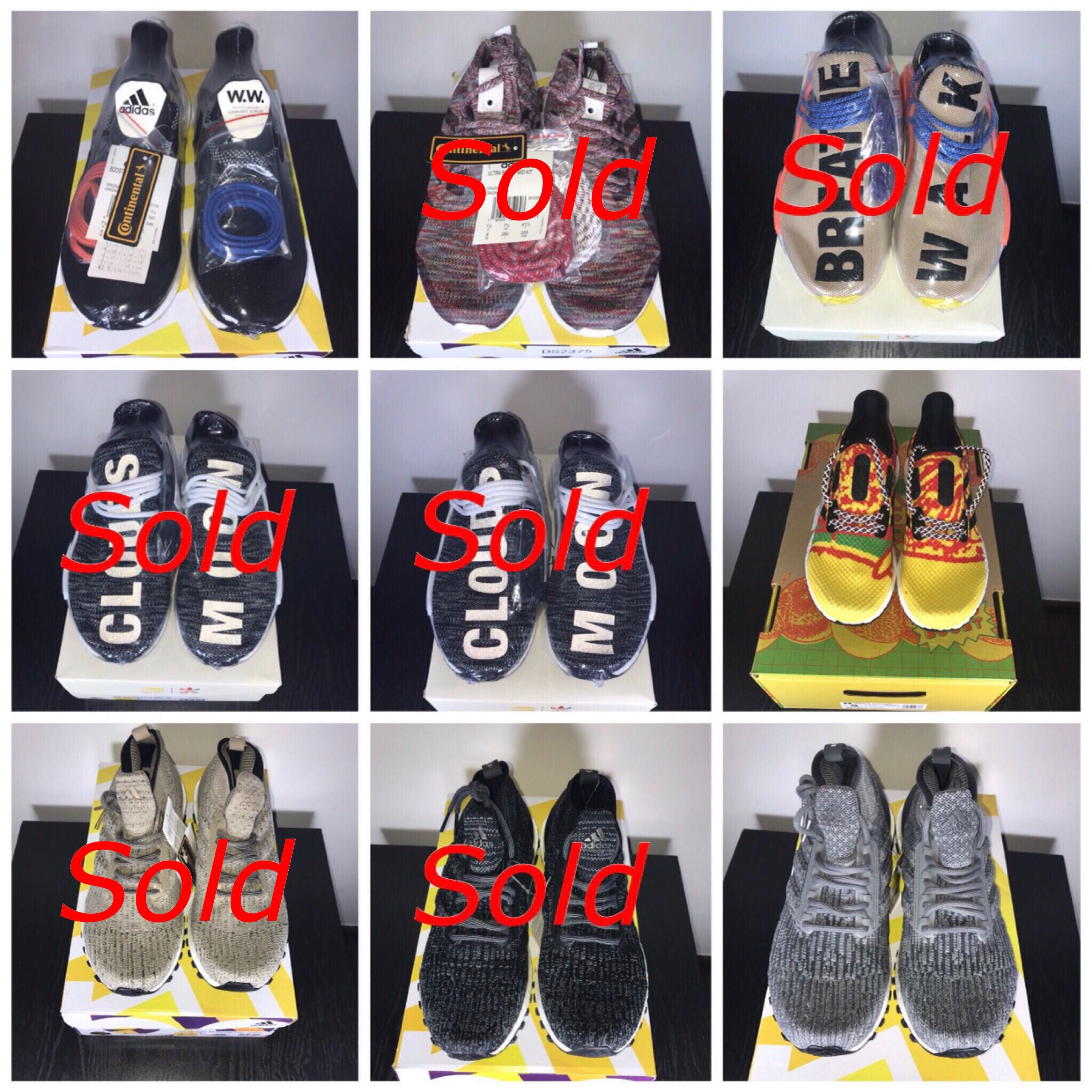 3e1a9650bf1b8 Adidas - Ultra Boost Wood Wood KITH ATR NMD PW TR Pale Nude Oreo ...