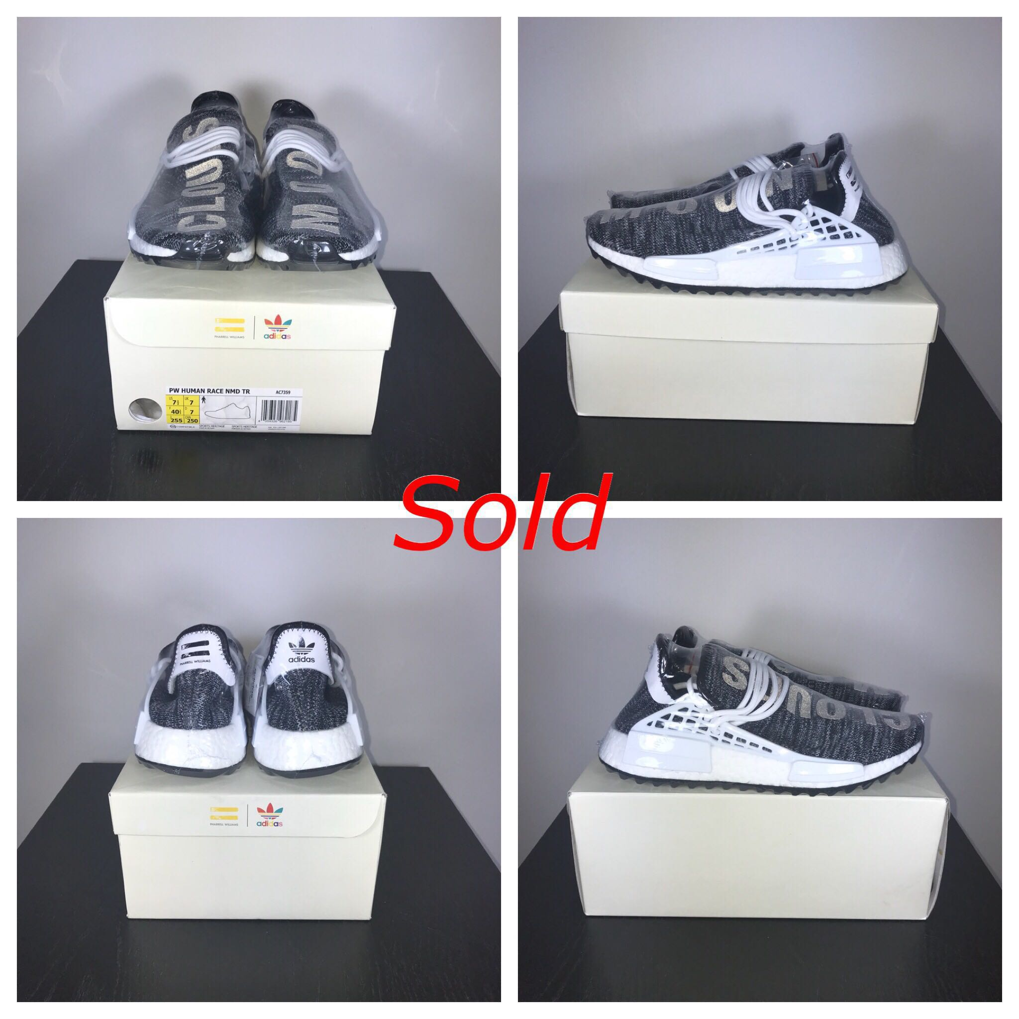9675a1e7f907f Adidas - Ultra Boost Wood Wood KITH ATR NMD PW TR Pale Nude Oreo  Speedfactory AM4LA UK 7.5 - 8 US