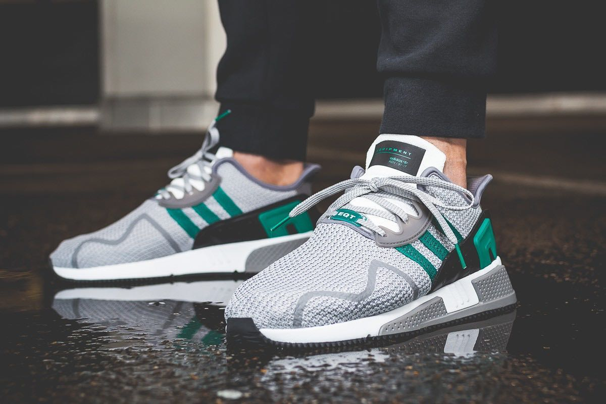 super popular d2b90 8674a Adidas EQT Cushion ADV Grey Green, Mens Fashion, Footwear, S