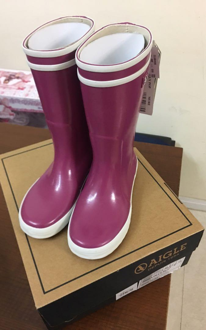 Aigle 女童水鞋