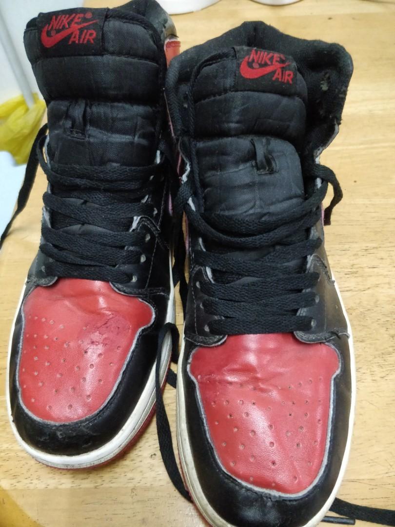 acheter en ligne 852e2 c74fe Nike Air Jordan 1 AJKO Bred 42.5 EU Baskets pour homme 9 US ...