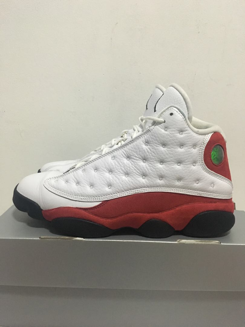 low priced 7d36a 18a6e Air Jordan Retro 13 - Cherry, Men s Fashion, Footwear, Sneakers on ...