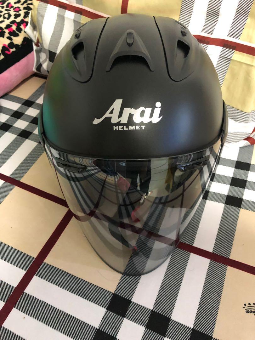 218fd25b Arai Ram 4 Authentic, Motorbikes, Motorbike Accessories on Carousell