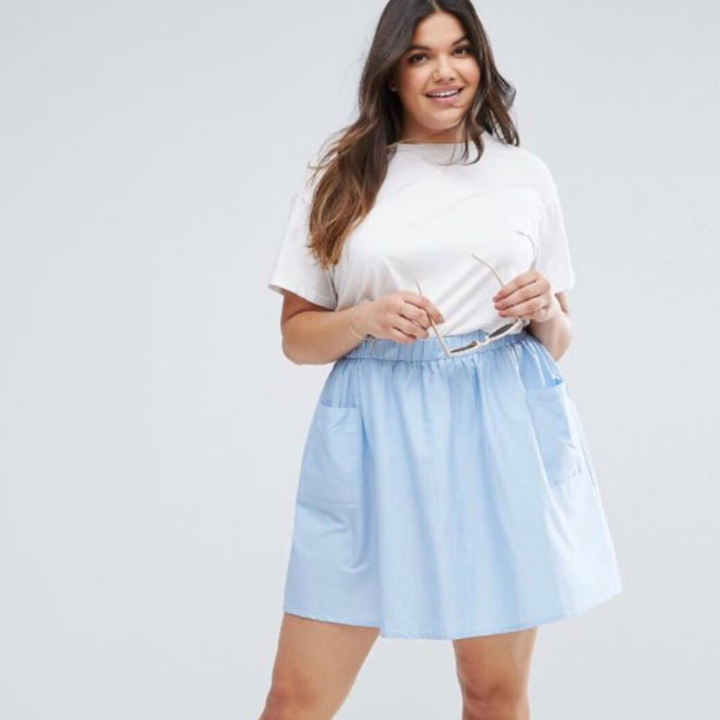 4053b3bef Plus Size Skirts With Pockets