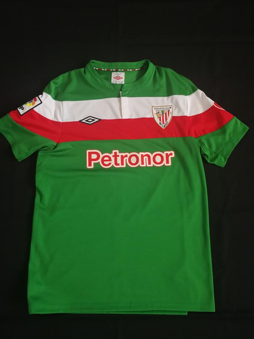 super popular 96d5c 68e9f Athletic Bilbao 11/12 Away Shirt Jersey #9 LLORENTE La Liga Umbro