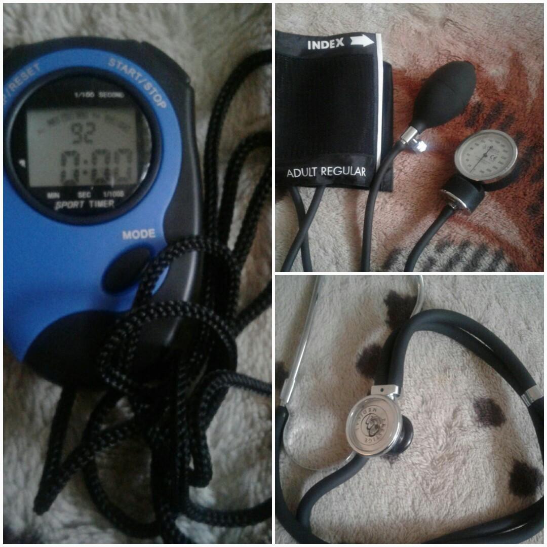 Basic Aneriod Sphygmomanometer/ Sprague-Rappaport kit